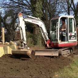 Digger and driver hire Wokingham